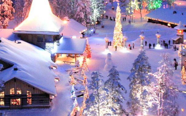 Laponia Under Snow
