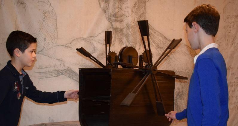 Leonardo Da Vinci Expo