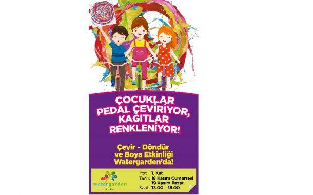Watergarden İstanbul 'da Bu Haftasonu Çocuklar İçin Etkinlikler