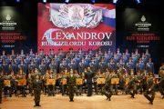Aleksandrov Rus Kızılordu Korosu CRR Konser Salonu'nda