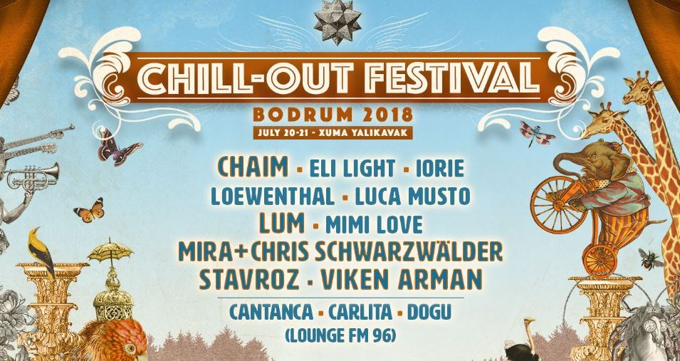 Chill-Out Festival 4. Kez Bodrum'da!