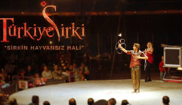 Türkiye'nin İlk Uluslararası Hayvansız Sirki,