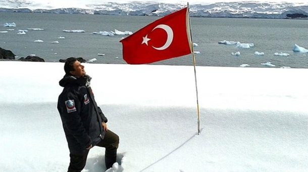 Antarktika'da Kurulacak Türk Üssünün Yeri Belli Oldu
