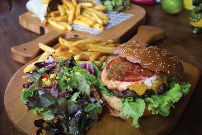 acılı burger